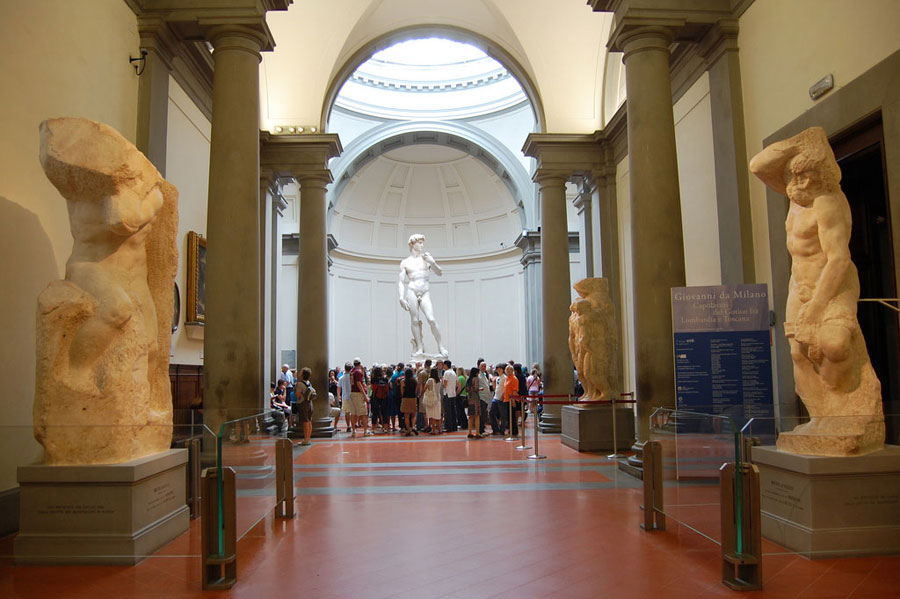 accademia gallery david by michelangelo florence