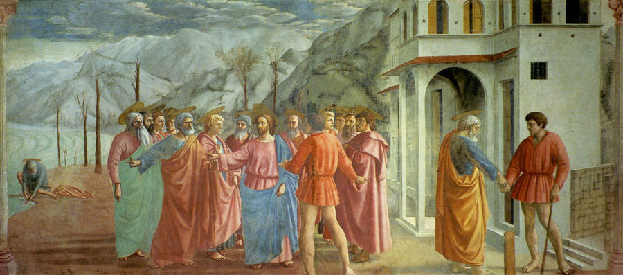 Image result for brancacci chapel masaccio