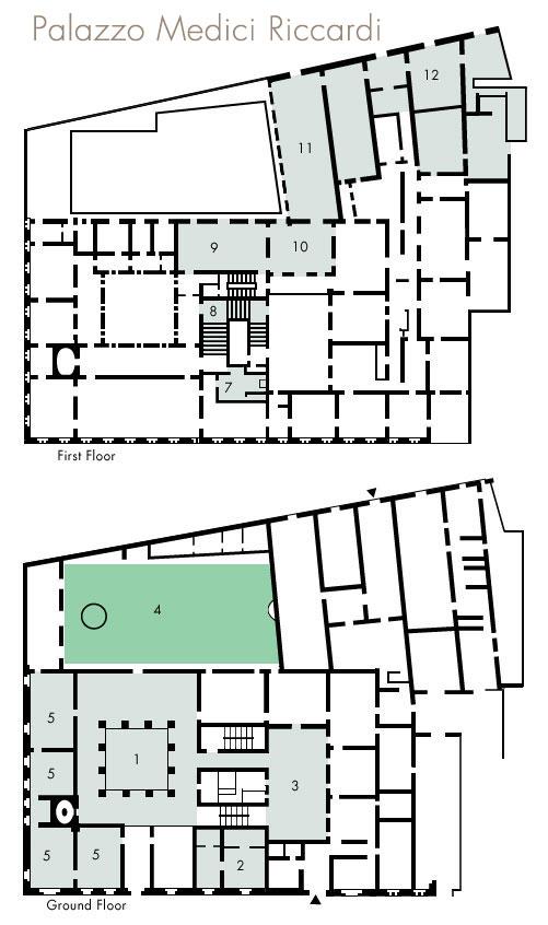 Hist Archisectionb Medici Riccardi Palace
