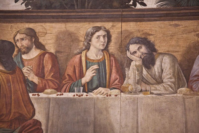 Nissan St Augustine >> Church and Last Supper of Ognissanti - Florence