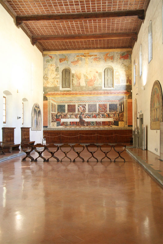 Last Supper Of Sant Apollonia Florence