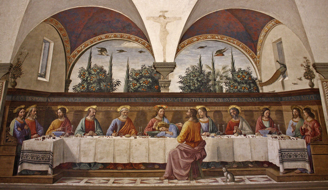 Last Supper Of San Marco Florence