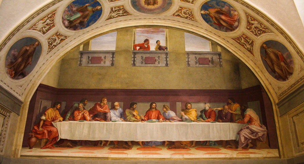 Last Supper Of San Salvi Florence