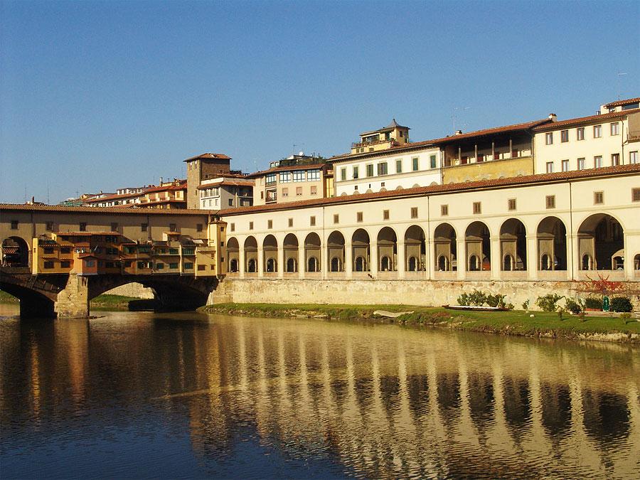 Vasari corridor florence the corridor along the riverside sciox Image collections