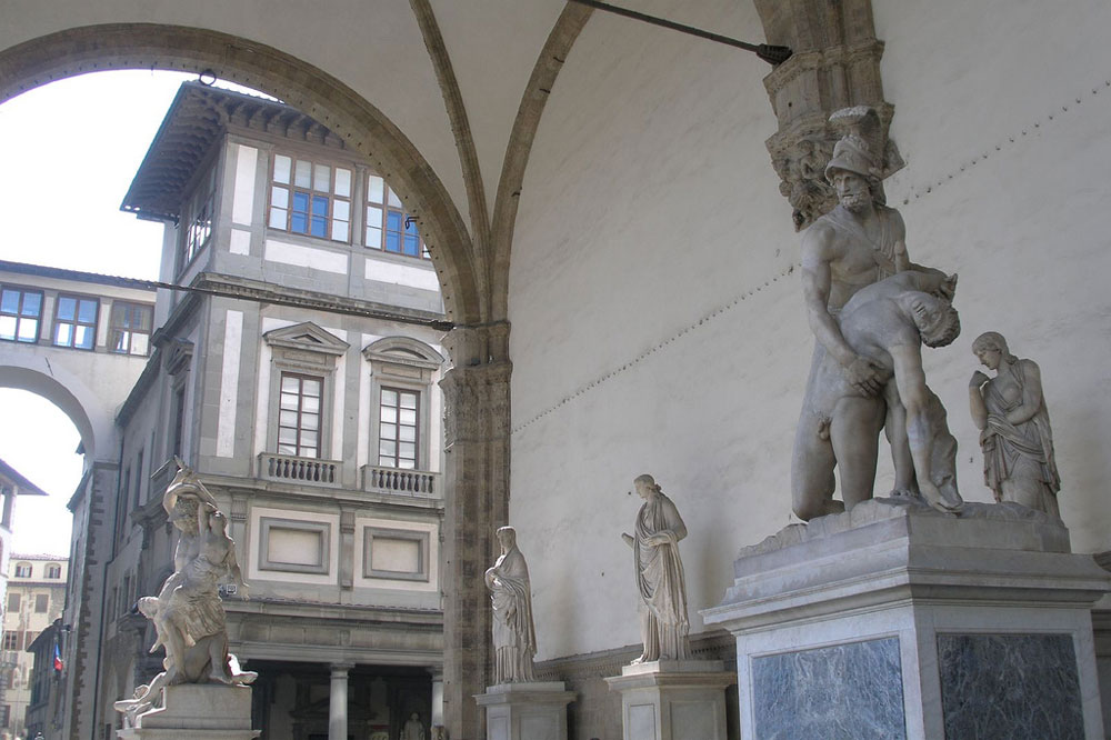 Palazzo Vecchio Statues