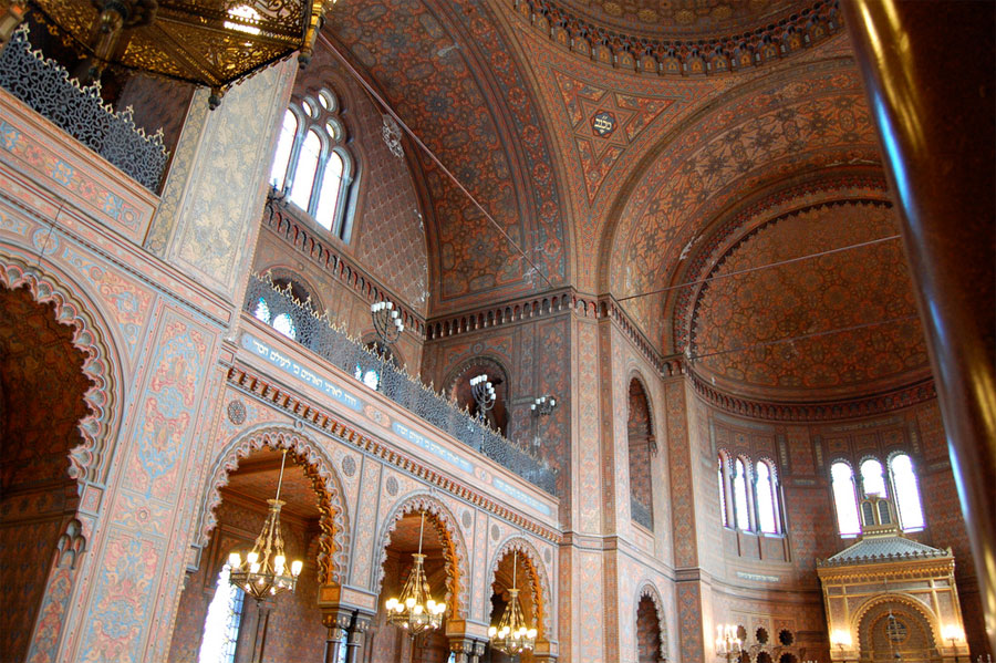 Synagogue Of Florence And Museum Of Hebraic Art And